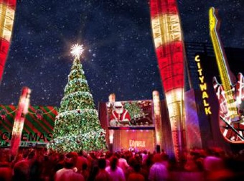 CityWalk at Christmas