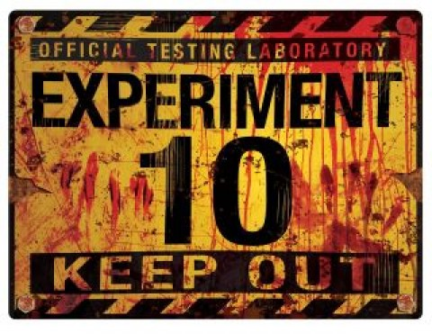 Experiment 10 sign