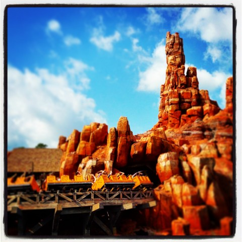 Big Thunder Mountain Railroad Instagram Pic