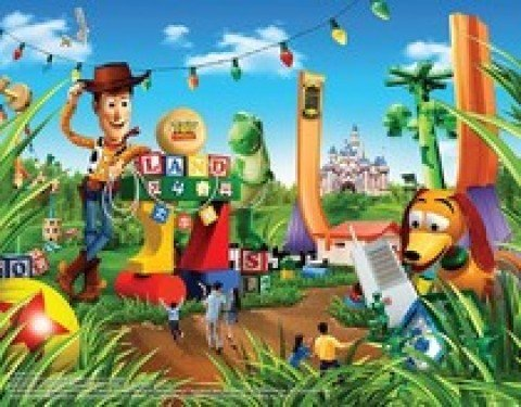 Toy Story Playland artwork