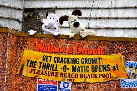 Wallace & Gromit Thrill-O-Matic poster