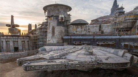 The Millennium Falcon at Galaxy's Edge