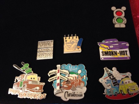 Pin Collecting