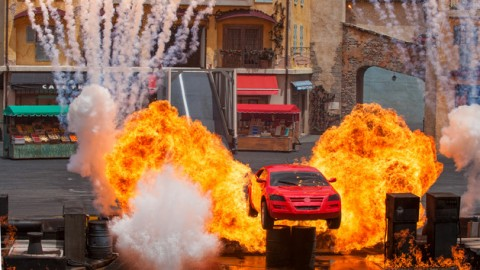 Finale of Lights, Motors, Action! on Disney's Streets of America