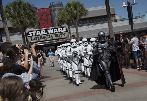 March of the First Order at Hollywood Studios