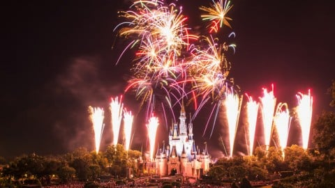 Wishes Nighttime Spectacular at Magic Kingdom
