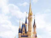 Cinderella Castle golden tower