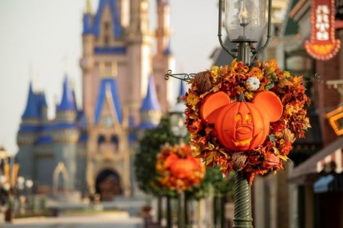Halloween at Magic Kingdom 2020