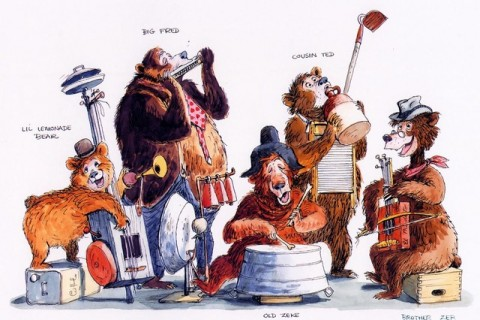 Country Bear Jamboree concept art