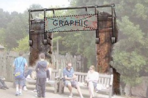 Alton Towers new ride entrance image