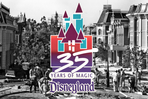 Disneyland 35th logo