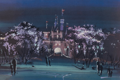 Disneyland Sleeping Beauty Castle concept art