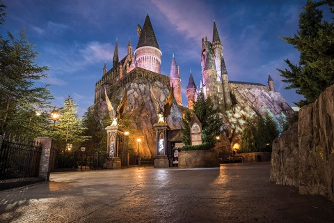 Hogwarts at Dawn