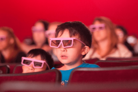 3D glasses at the Pixar Short Film Festival