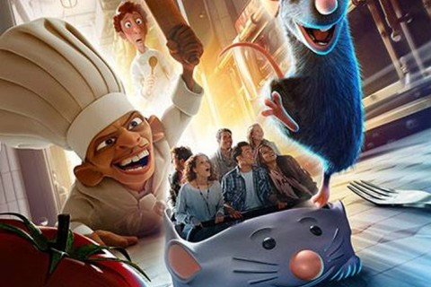 Ratatouille: The Ride artwork