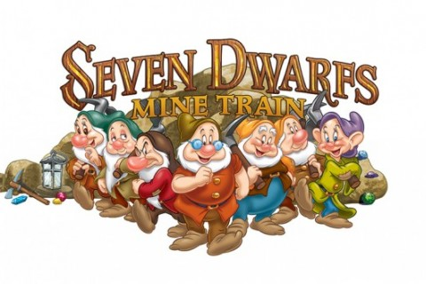 Seven Dwarfs Mine Train Logo