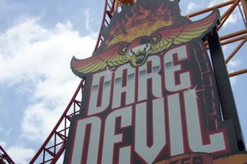 Dare Devil Dive- Six Flags Over Georgia