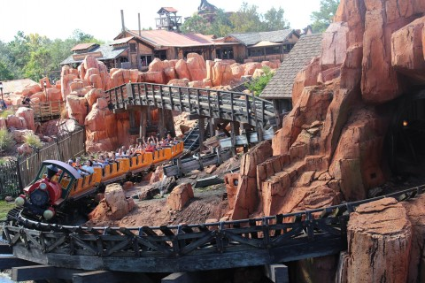 Big Thunder Mountain Magic Kingdom