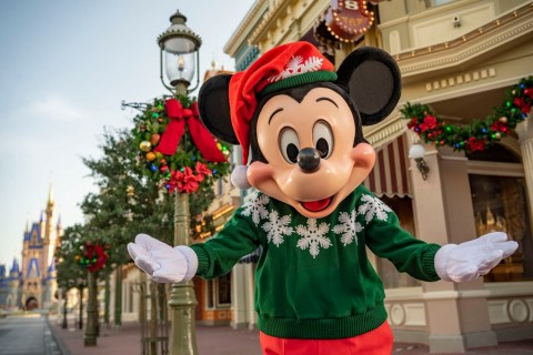 Christmas Mickey, Walt Disney World