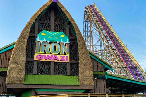 Iron Gwazi entrance
