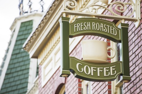 Starbucks Coffee on Main Street USA