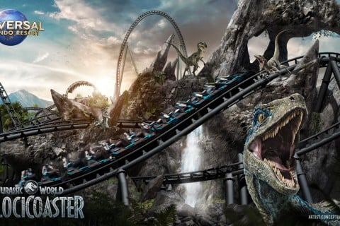 Jurassic World Roller Coaster