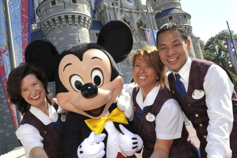 VIP Tour Guides with Mickey