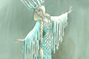 Elsa? Nope. The Snow Queen from Disney's never-built Enchanted Snow Palace ride