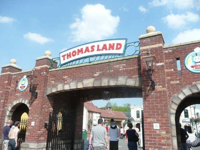 Drayton Manor, Thomas Land entrance