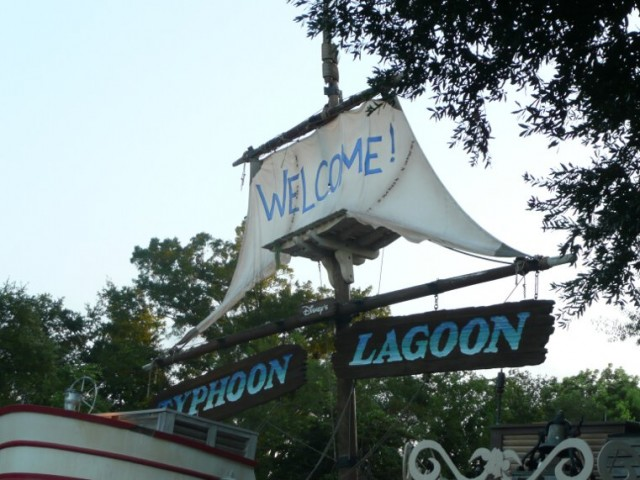 Typhoon Lagoon entrance