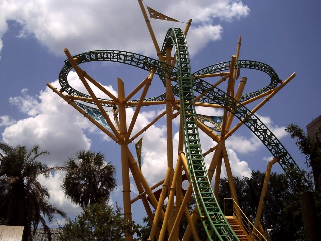 Cheetah Run, Busch Gardens Tampa. Theme Park Tourist