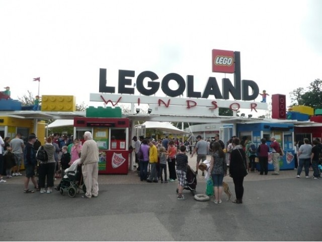 Legoland Windsor. Theme Park Tourist