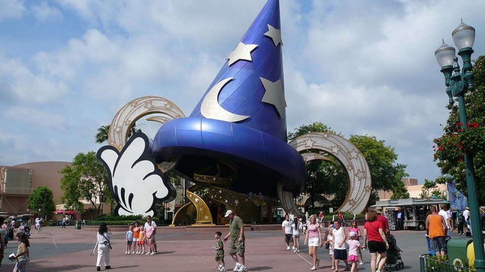 Giant Sorcerer's Hat at Disney's Hollywood Studios
