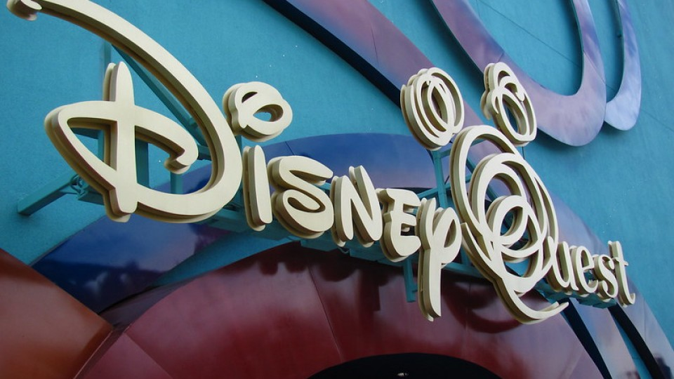 Disney Quest sign