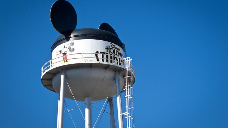 The Earful Tower at Disney's MGM Studios