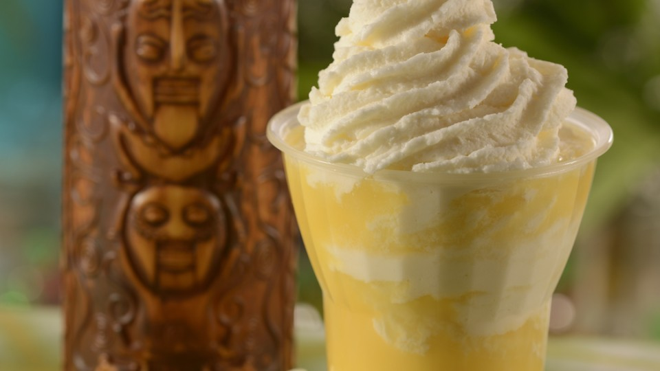 Dole Whip Float and Tiki Cup
