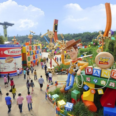 Hong Kong Disneyland, Toy Story Playland