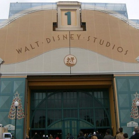 Walt Disney Studios entrance