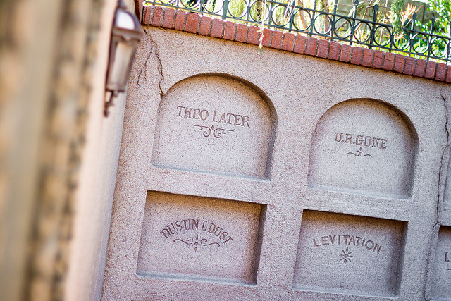 Haunted Mansion Graves