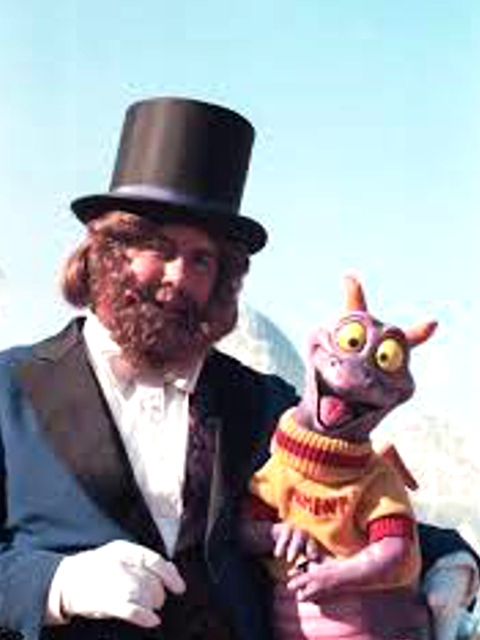 Figment with Dreamfinder