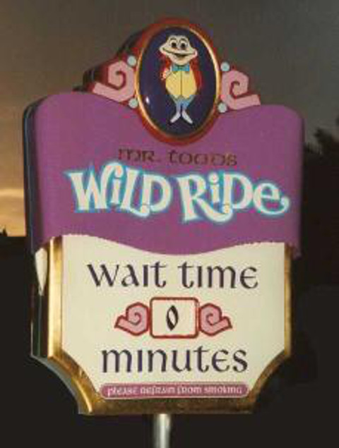Mr. Toad's Wild Ride Image (c) savetoad.com