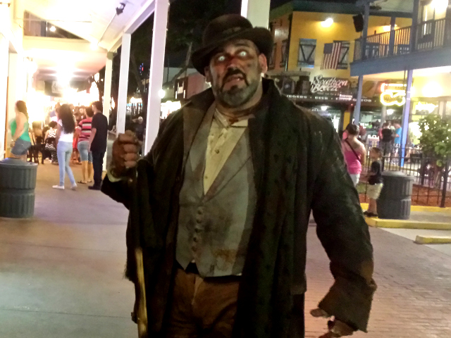 Legends Haunted House Actor