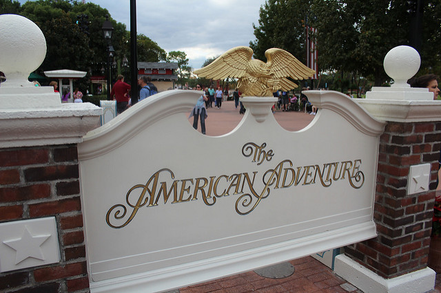 The American Adventure Is Red White Blue And Awesome Page 1