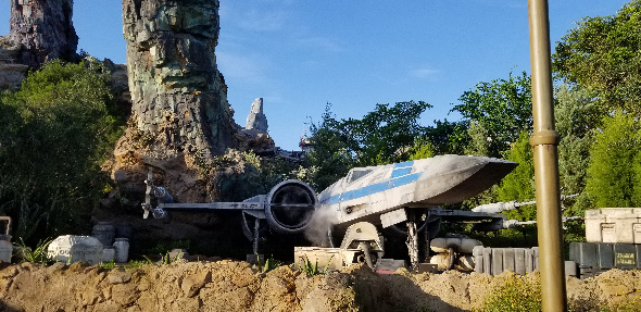 Galaxy's Edge X-Wing