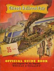 Chicago Railroad Fair guidebook