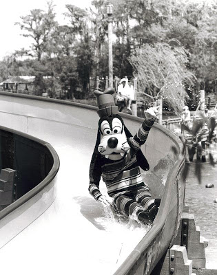 Goofy on Whoop 'n Holler Hollow