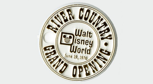 River Country Grand Opening Commemorative coin